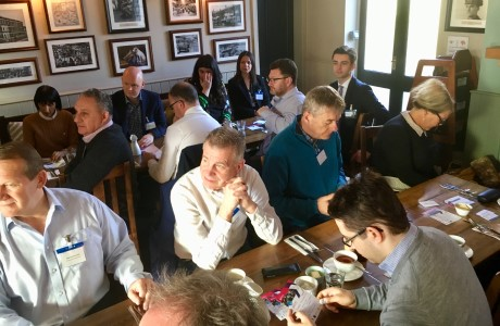 Networking Breakfast at the Wych Elm