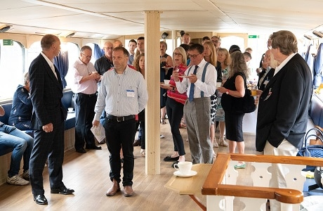 Networking on board Turk Launches